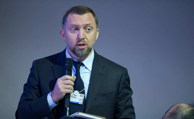 Russian oligarch Deripaska sues US over sanctions