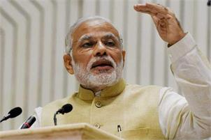 Our development work has endeared BJP to all sections of society: Modi