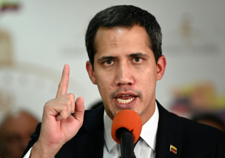 Guaido blasts Venezuela regime after security forces block congress