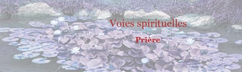 Voies spirituelles Prière