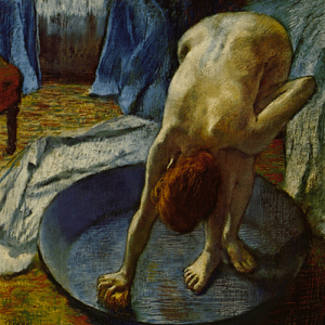 Degas grew more depressed in the 1880s after his eyesight started to worsen