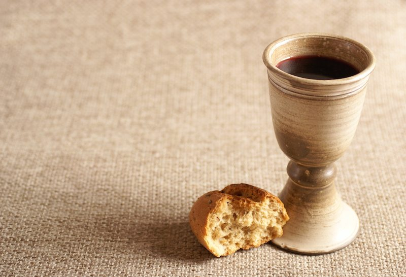 Image result for breaking bread and wine