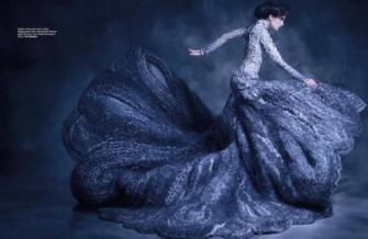 blue-gown