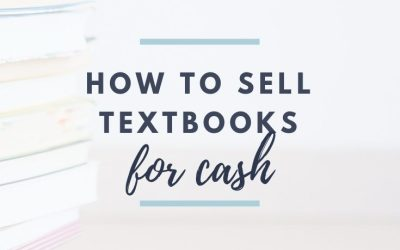 How To Sell Textbooks for Cash
