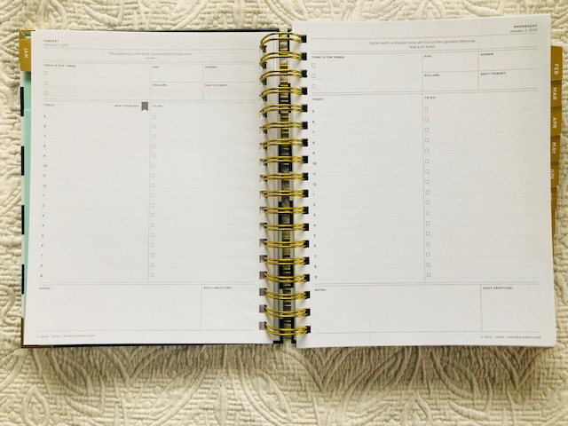 image about Daily Designer named Working day Designer Examine: The Top Purpose Planner - The