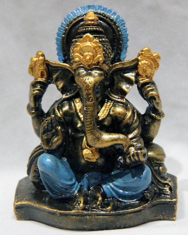 Ganesha: Blue Multi