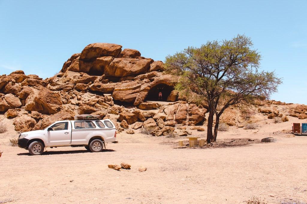 Kamperen in Namib Park | Namibië buiten de gebaande paden | De oranje rugzak