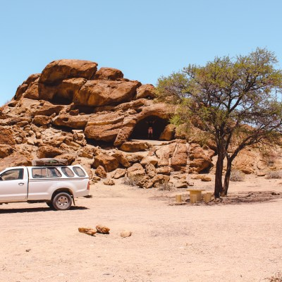 Camping in Namib Park | Namibia off the beaten track | The Orange Backpack