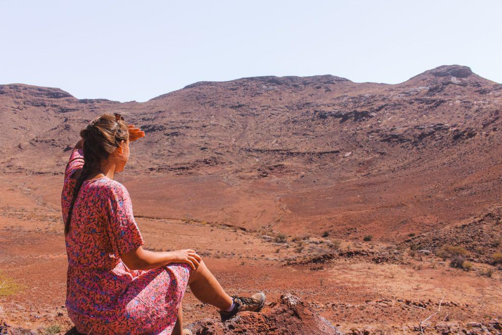 Brukkaros vulkaan | The Orange Backpack