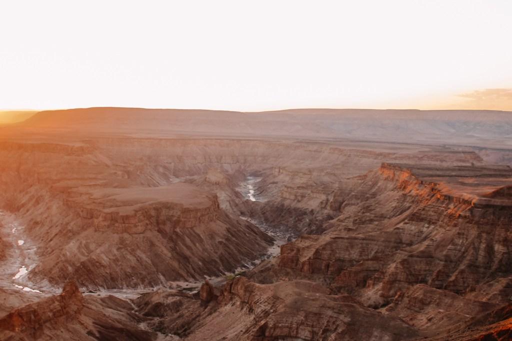 Standpunten Fish River Canyon in Namibië | Rondreis in Namibië