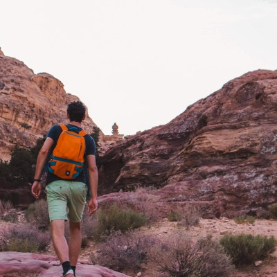 Petra Monastery backdoor | Jordan | Jordanië | The Orange Backpack
