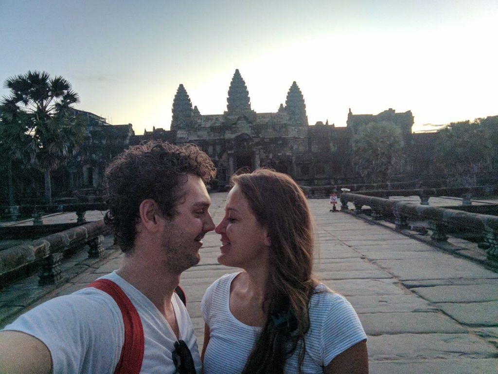 Cambodja | Onze tiende date in Angkor Wat | The Orange Backpack