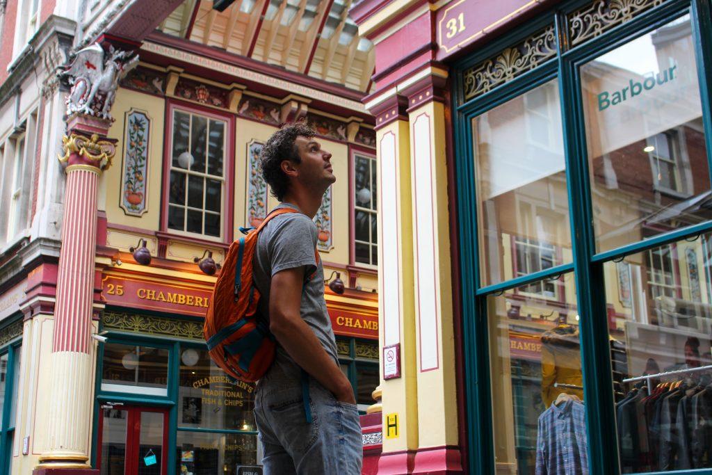 Londen | The Orange Backpack