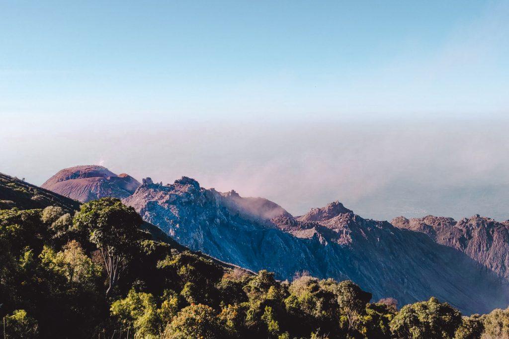 Santiaguito lookout hike | Monte Verde Quetzaltenango | Guatemala