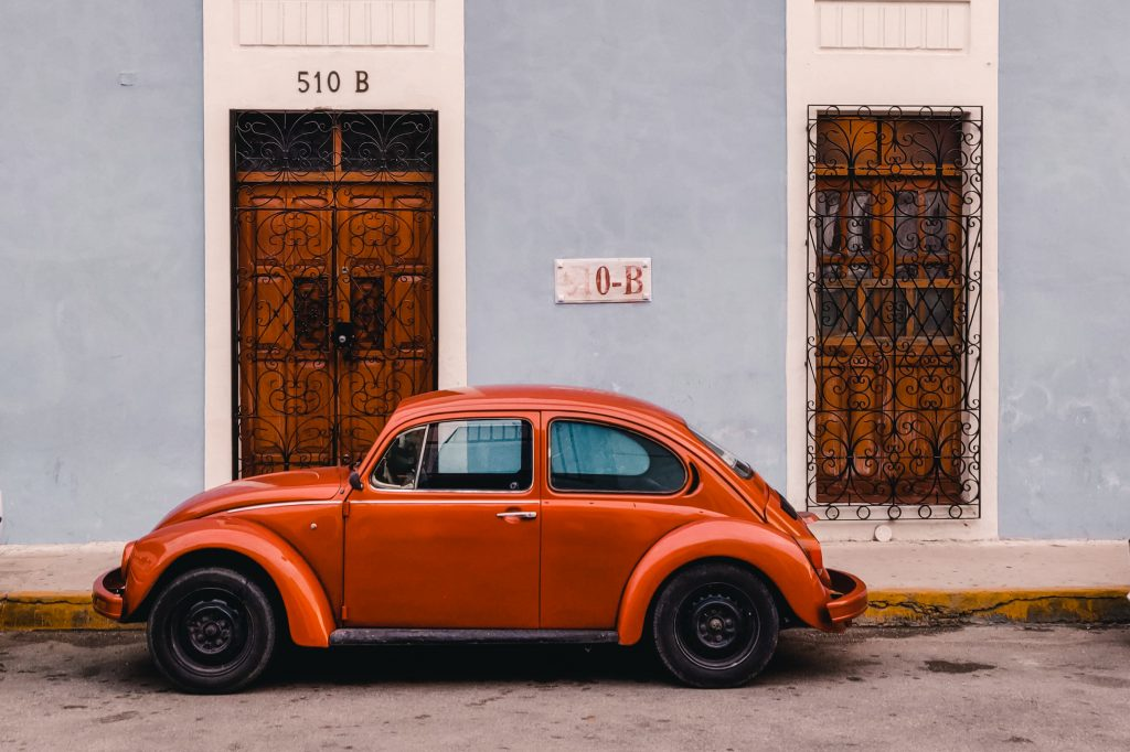 Merida Yucutan Mexico The Orange Backpack