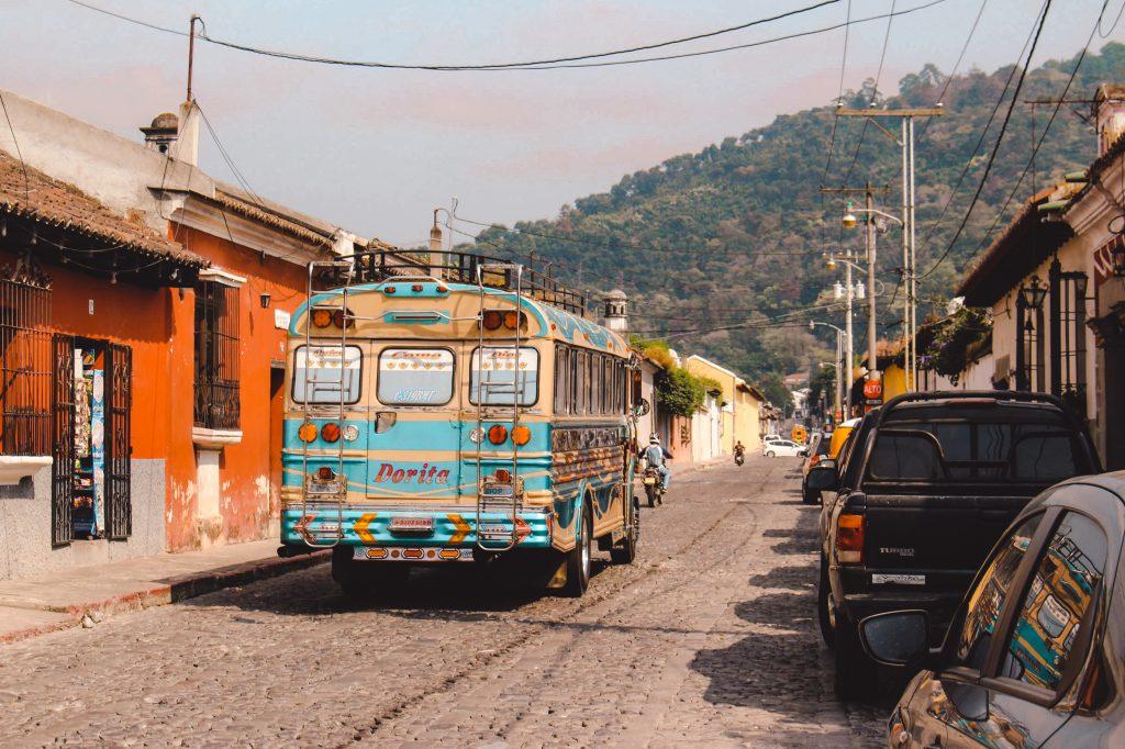 Chicken bus | Quetzaltenango Guatemala