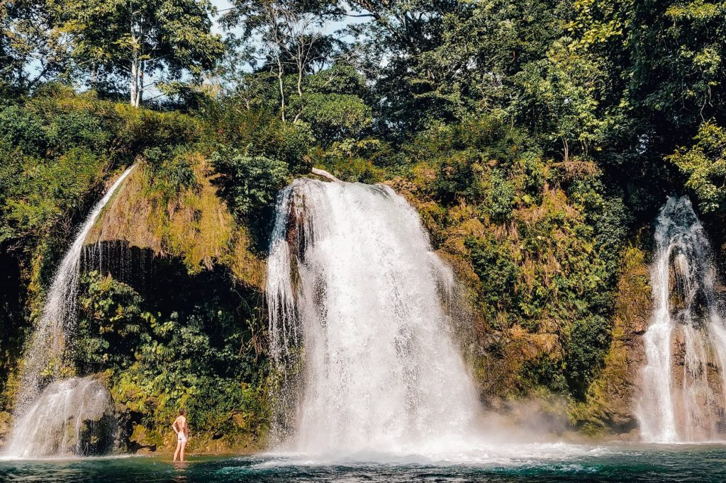 Palenque waterfalls | Yucutan Mexico | The Orange Backpack