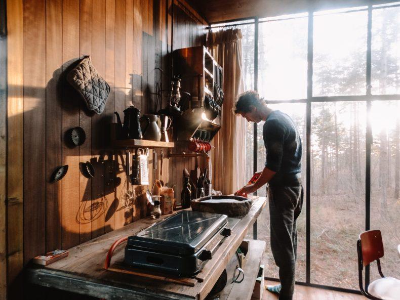 Warredal in België: uniek overnachten in boomtop cabins