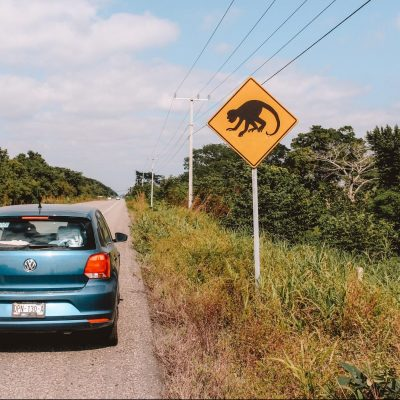 Driving in Yucutan Mexico | The Orange Backpack