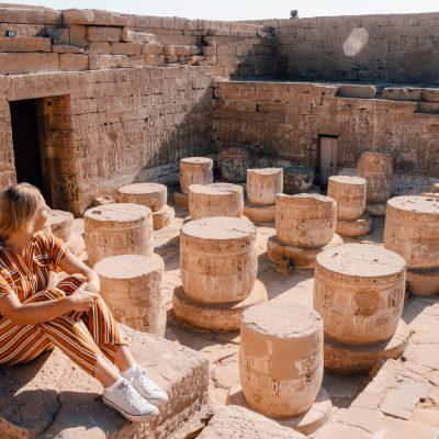 Luxor | Medinet Habu Temple | Egypt | Egypte | The Orange Backpack