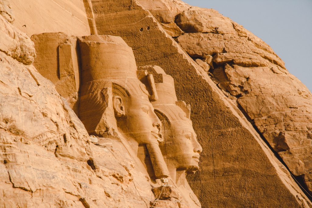 Abu Simbel | Ramses II | Egypt Egypt The Orange Backpack