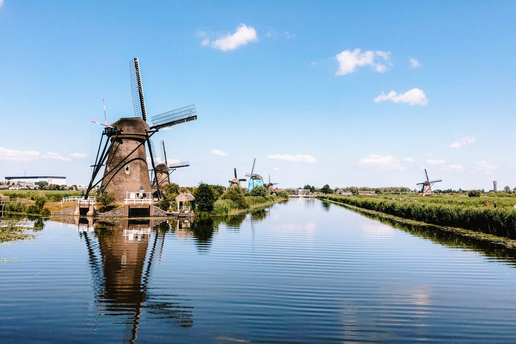 Kinderdijk, Rotterdam | Nederland, Netherlands | The Orange Backpack