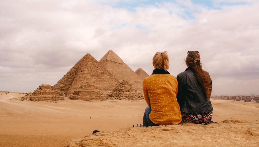Cairo | Pyramids, Giza | Pyramids, Giza | Egypt | Egypt | The Orange Backpack