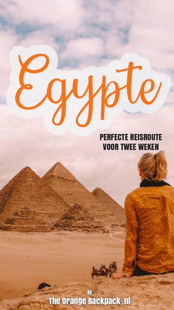 Ultieme reisroute Egypte door The Orange Backpack