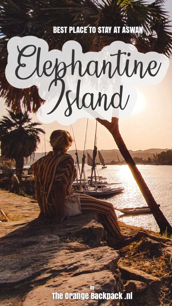 Elephantine Island Aswan Egypt The Orange Backpack