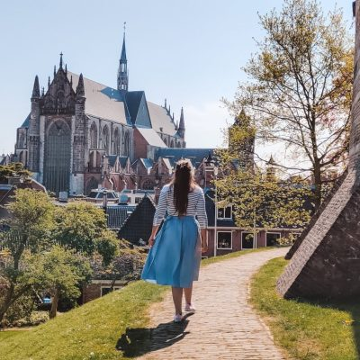 Leiden, Nederland | The Orange Backpack