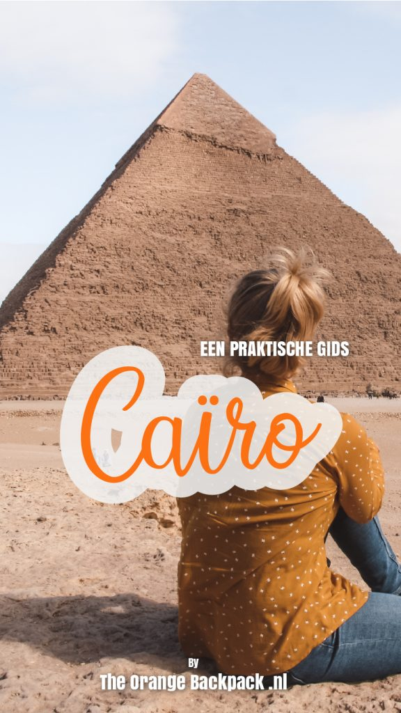 Reisgids Cairo in Egypte The Orange Backpack