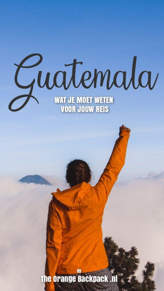 Reisvoorbereiding Guatemala The Orange Backpack