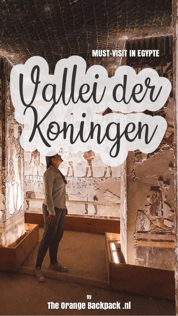 Vallei der Koningen reisgids Egypte The Orange Backpack