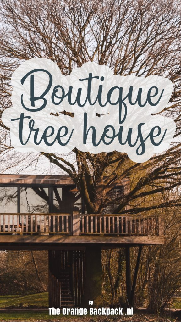 Boutique tree house Netherlands