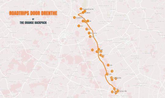 Autoroute Hunebed Highway Drenthe - Nederlandse roadtrip