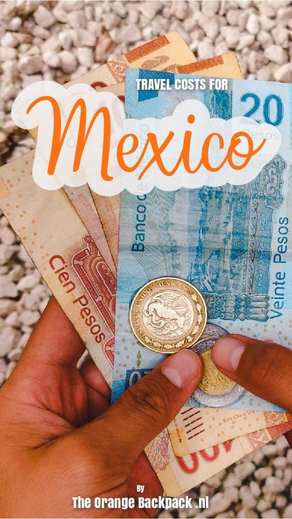 Reiskosten Mexico The Orange Backpack