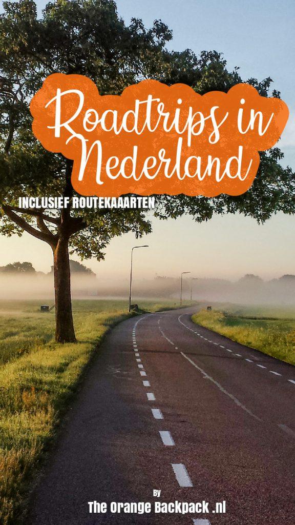 Mooiste roadtrips in Nederland inclusief routekaarten
