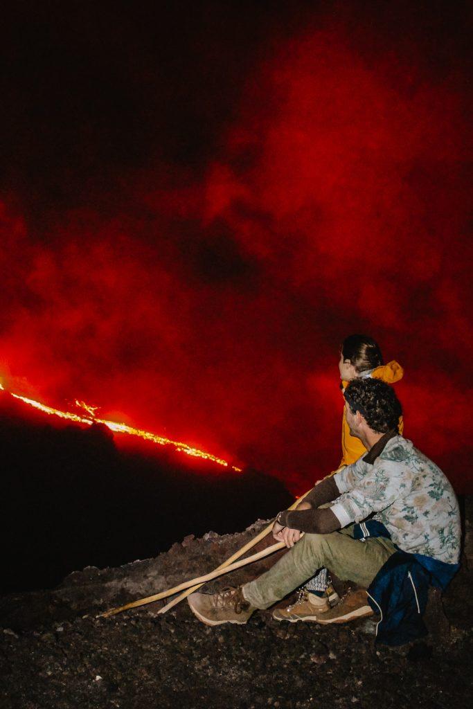 Antigua hike to Pacaya vulcano Guatemala