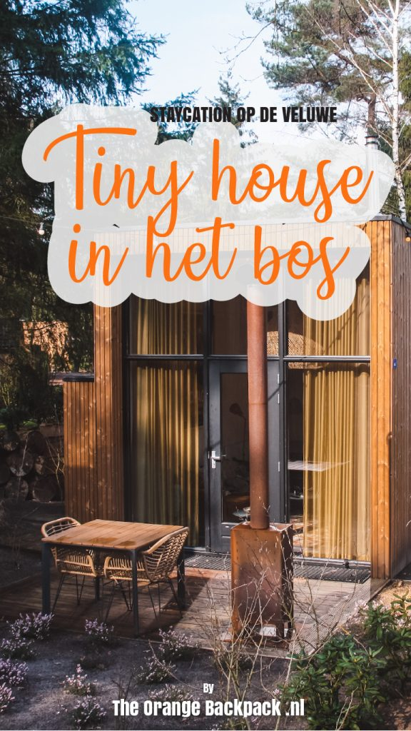 Tiny house in forest Veluwe