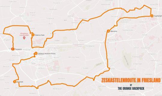 Zeskastelenroute in Friesland | Nederlandse roadtrip