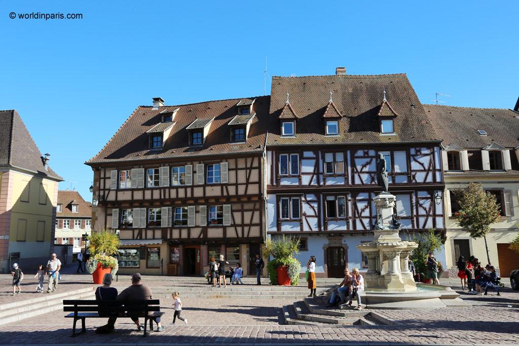 Europa Road Trip Elzas Frankrijk Colmar