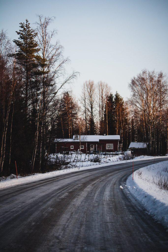 Europe road trip Lapland Finland