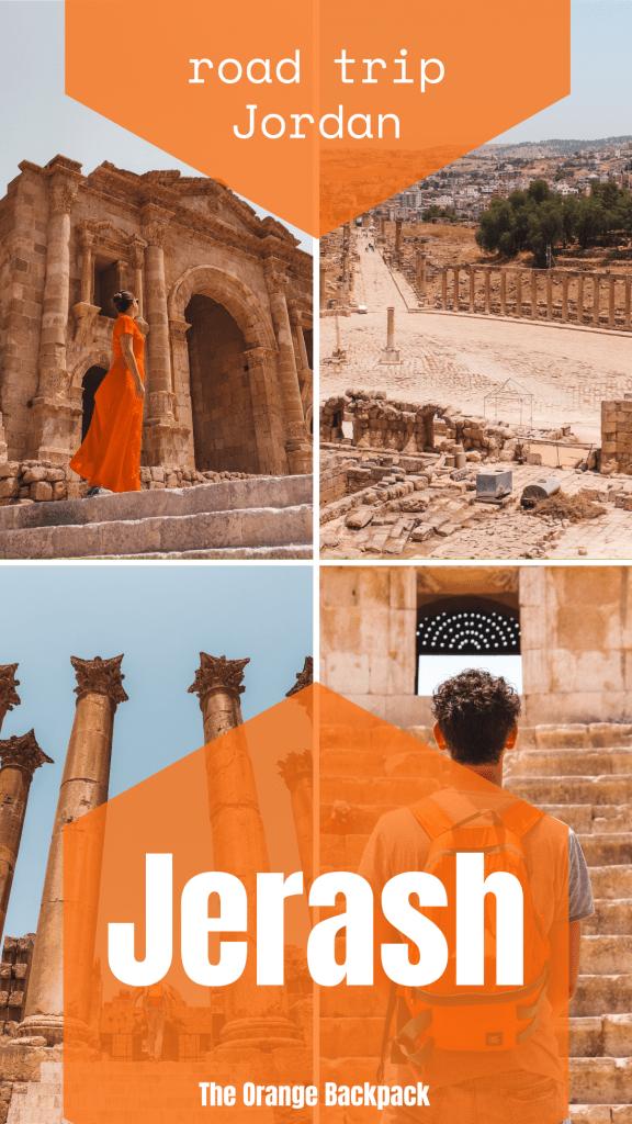 ancient city Jerash in Jordan | rondreis Jordanië