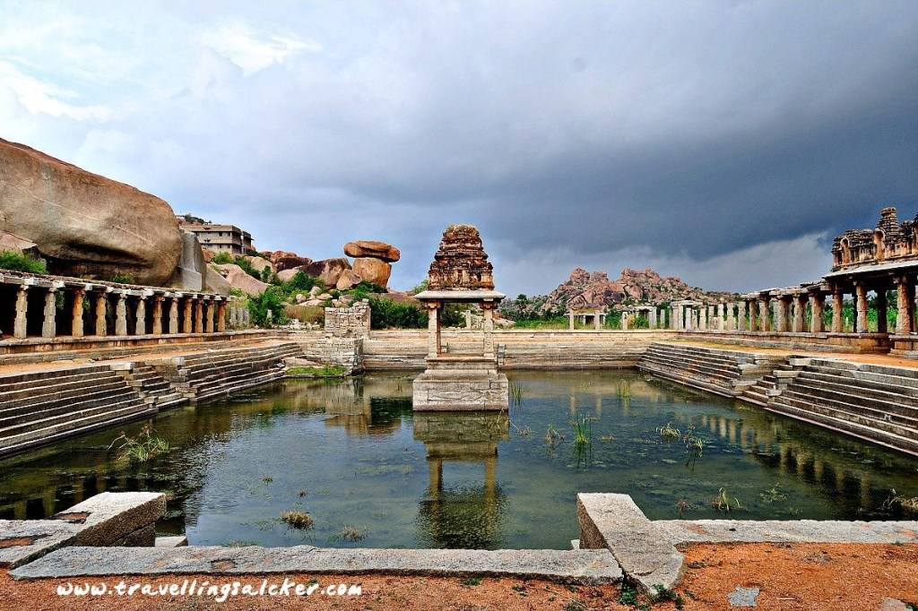Verloren stad Hampi in India