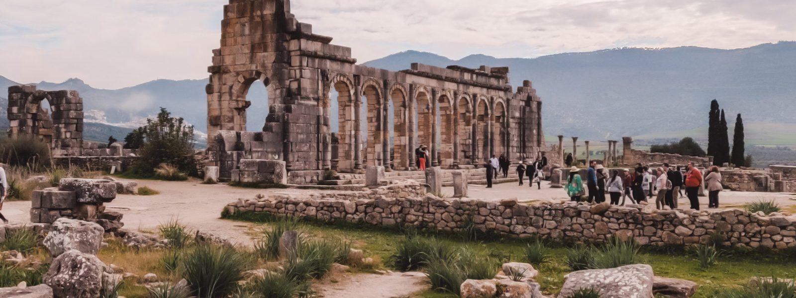 Volubilis: Romeinse ruïnes in Marokko (+ praktische kaart)