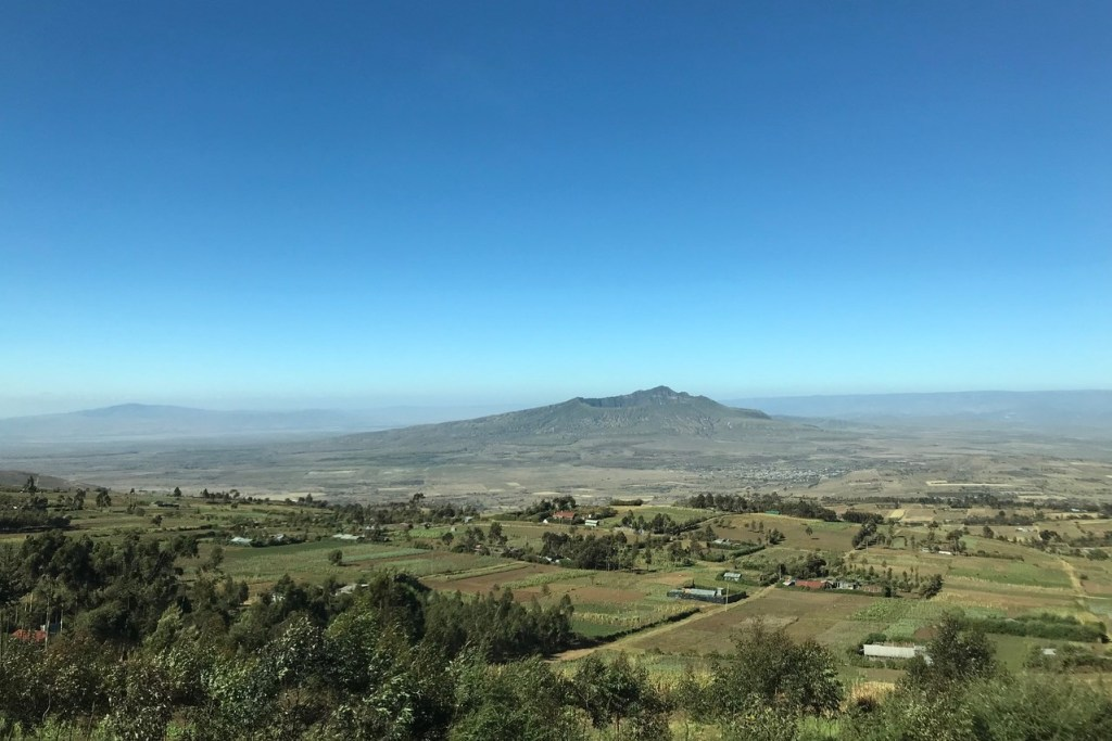 Best volcanoes to visit |  Mount Longonot in Kenya