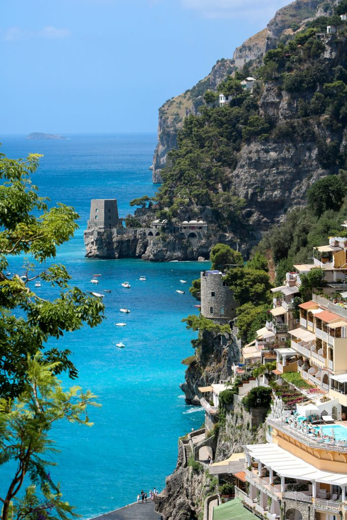 Road trip Europe Amalfi Coast