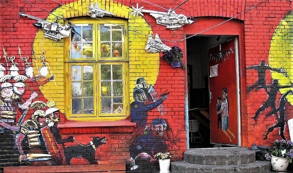 Street art in Copenhagen, Denmark