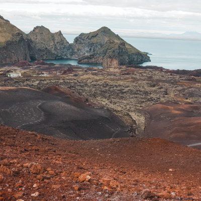 Vulkaan Vestmannaeyjar IJsland | Westmann Islands | Road trip Iceland