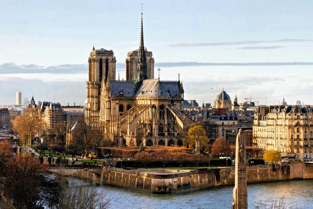 Eiffen Tower Notre Dame